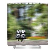 Rollerblade Shower Curtain
