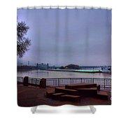 Rollin Onna River Shower Curtain
