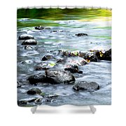 Rolling Brook Shower Curtain