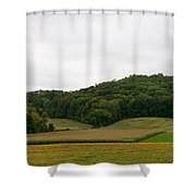 Rolling Fields Shower Curtain