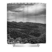 Rolling Hills Of North Carolina Shower Curtain