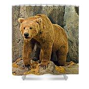 Rolling Hills Wildlife Adventure 1 Shower Curtain