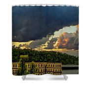 Storm Clouds Rolling In Shower Curtain