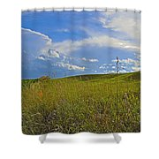 Rolling Pasture Shower Curtain