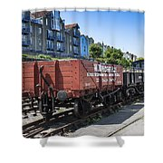 Rolling Stock Shower Curtain