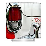 Rolling Thunder Shower Curtain