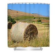Roll'n The Hay Shower Curtain