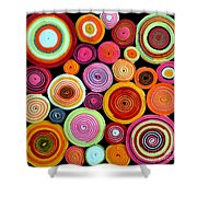 Rolls Shower Curtain by Delphimages Photo Creations