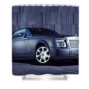 Rolls Royce 3 Shower Curtain