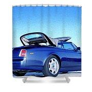 Rolls Royce 6 Shower Curtain