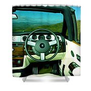 Rolls Royce 8 Shower Curtain