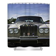Rolls Royce Corniche 1980 Shower Curtain