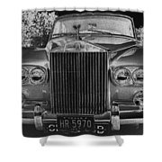Rolls Royce Grill Shower Curtain