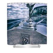 Rolls Royce Mascot Shower Curtain