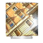 Roma Windows Shower Curtain