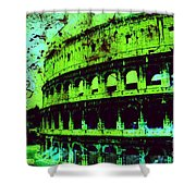 Roman Colosseum Shower Curtain