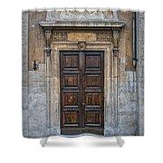 Roman Doors Shower Curtain