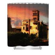 Roman Forum At Sunset Shower Curtain