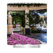 Roman Garden Shower Curtain