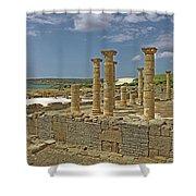Roman Ruins Of Baelo Claudia Shower Curtain