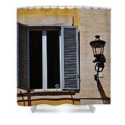 Roman Window Shower Curtain