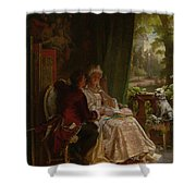 Romance Shower Curtain by Carl Herpfer
