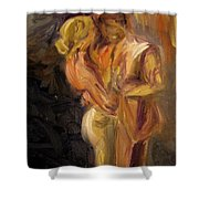 Romance Shower Curtain by Donna Tuten