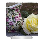 Romance Is The Dance Of Life Shower Curtain