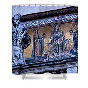 Romanesque Campanile Shower Curtain