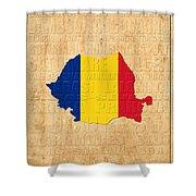 Romania Shower Curtain