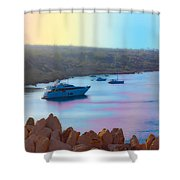 Romantic Beach Shower Curtain