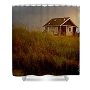 Romantic Beach Getaway Shower Curtain by Beverly Guilliams