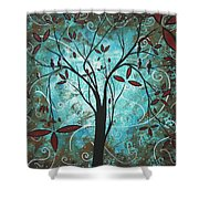 Romantic Evening By Madart Shower Curtain