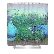 I Try To Be As Romantic As A Simple Goose But I Know Too Much  Shower Curtain