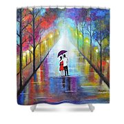 Romantic Interlude Shower Curtain