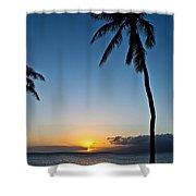 Romantic Maui Sunset Shower Curtain