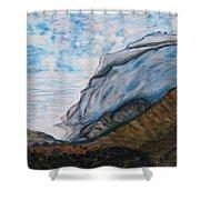 Romantic Mountains Shower Curtain