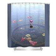 Romantic Pond Shower Curtain