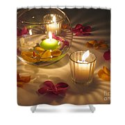 Romantic Setting Shower Curtain