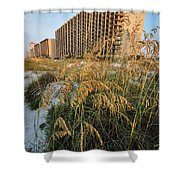 Romar Beach Sunrise Beach3 Shower Curtain