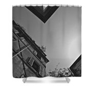 Rome Abstracted Shower Curtain