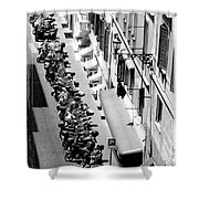 Rome - Cityscape 1 Shower Curtain