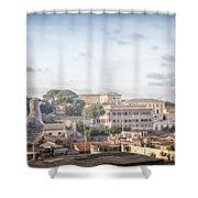 Rome Cityscape Shower Curtain