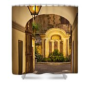 Rome Entry Shower Curtain
