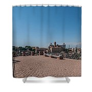 Rome From Above Shower Curtain