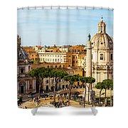 Rome, Italy. Rome, Italy. Piazza Della Shower Curtain