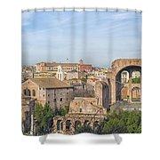 Rome Roman Forum 01 Shower Curtain