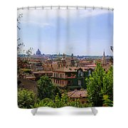 Rome Rooftop Shower Curtain