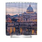 Rome Saint Peters Basilica 01 Shower Curtain