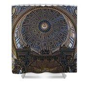Rome Saint Peters Basilica Interior 01 Shower Curtain